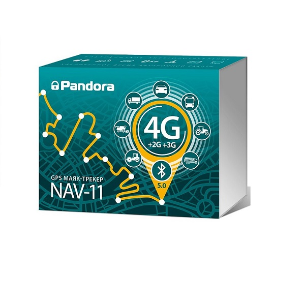 Pandora NAV–11–4G/GPS трекер